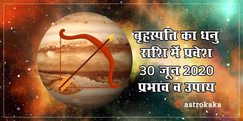 Jupiter (Guru) Transit in Sagittarius on 30 June Prediction and Remedies
