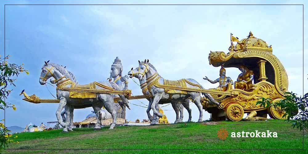 16 different arts of Lord Krishna