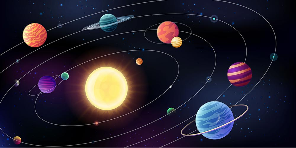 Amazing coincidence of multiple planets transit that will be good the country
